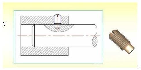 螺钉连接画法图文详解
