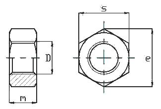 m16螺母尺寸