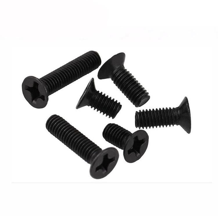 碳钢螺钉 GB819-76 十字沉头机螺钉