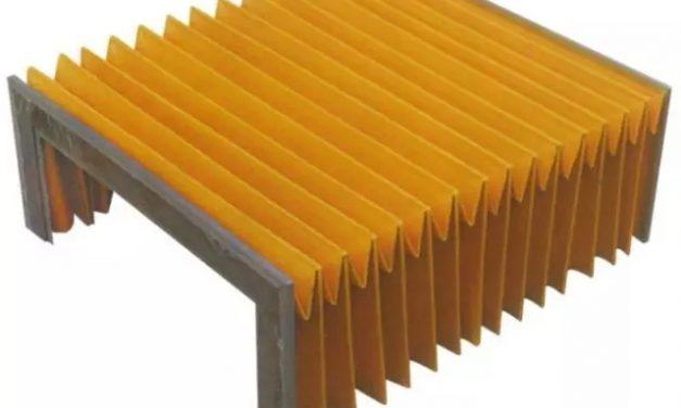 解密尼龙风琴式导轨防护罩